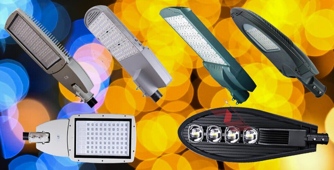 ánh sáng đèn đường led