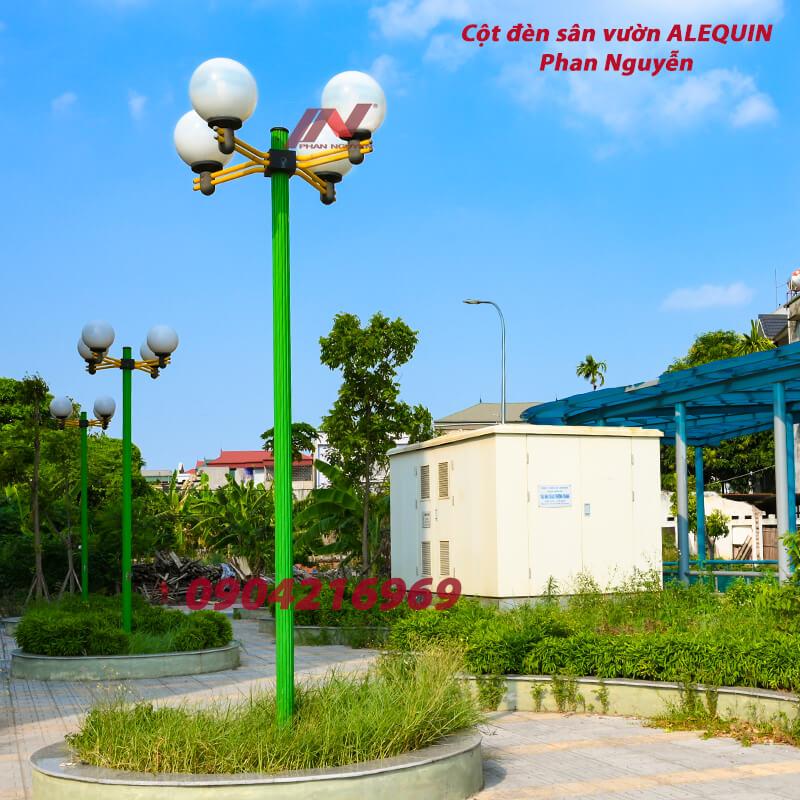 cột đèn sân vườn alequin