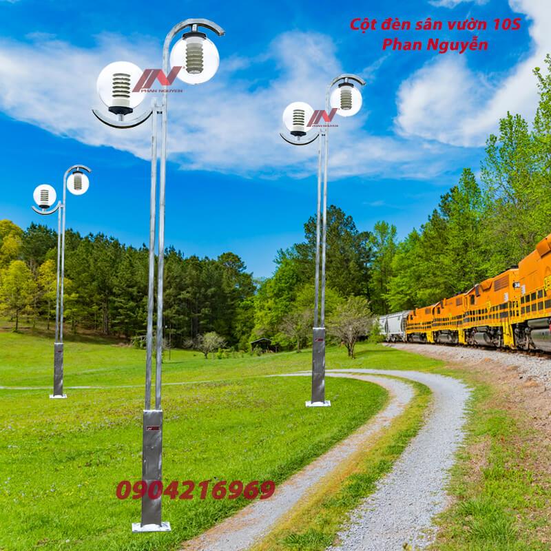 cột đèn sân vườn 10S