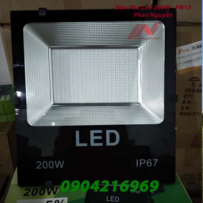 đèn led pha 200W