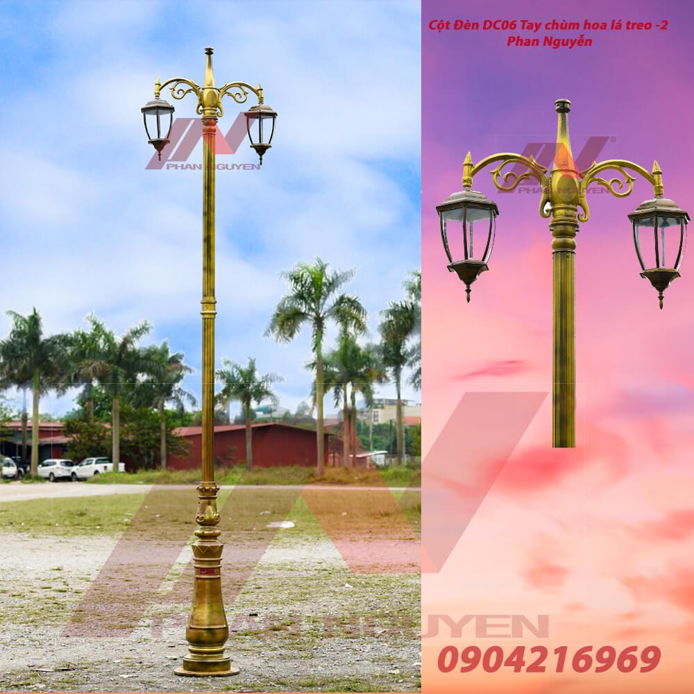 cột đèn sân vườn biệt thự