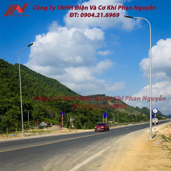 cột đèn cao áp Phan Nguyễn