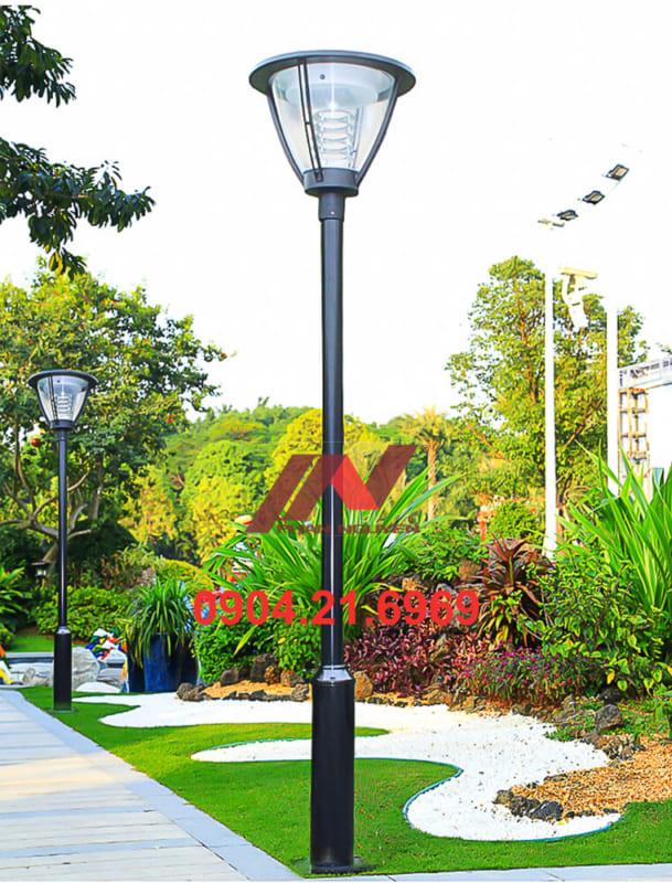 cột đèn sân vườn thép sơn