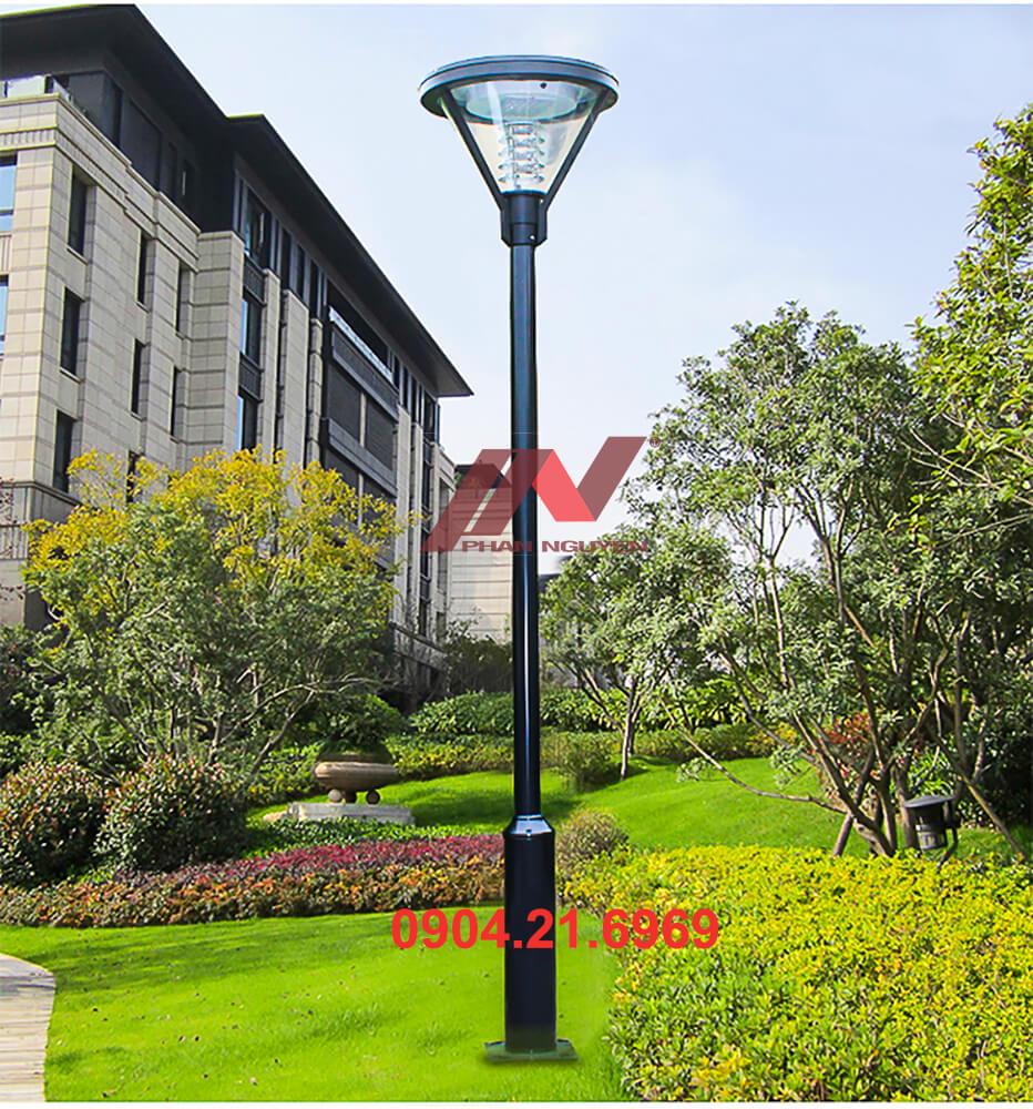 cột đèn sân vườn thép lắp biệt thự